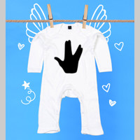 Pijama para bebé - Long live and prosper